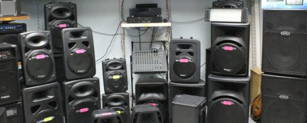 matériel de son